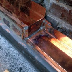 Copper Work - Reglet Flashing