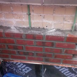 Inboard of Parapet Brick Replacement