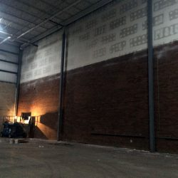 Metal Stud Framing on top of masonry wall taped