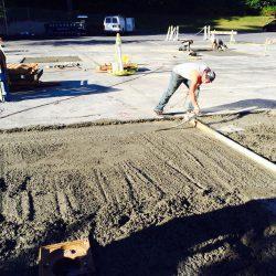 Parking garage slab repair