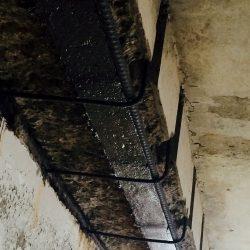 Parking garage slab repair - Concrete Beam Repair
