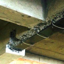 Parking garage slab repair - Steel Repair